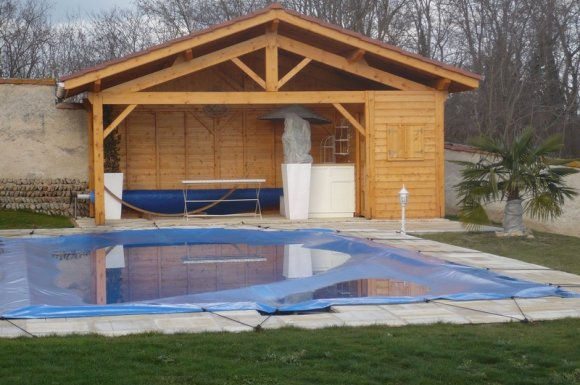 Construction pool house Bourgoin-Jallieu